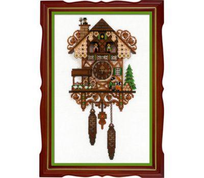 """1730 Набор для вышивания """"Риолис"""" Часы с кукушкой 25*40 см, 1730"""