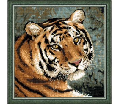 """1282 Набор для вышивания """"Риолис"""" Амурский тигр 40х40 см, 1282"""