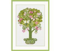 """1295 Набор для вышивания """"Риолис"""" Дерево счастья 21х30 см"""