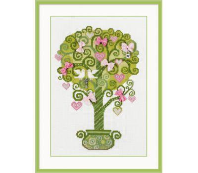 """1295 Набор для вышивания """"Риолис"""" Дерево счастья 21х30 см, 1295"""