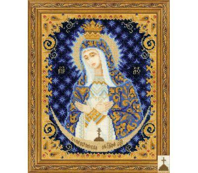 """1299 Набор для вышивания """"Риолис"""" Богоматерь Остробрамская 13х16 см, 1299"""