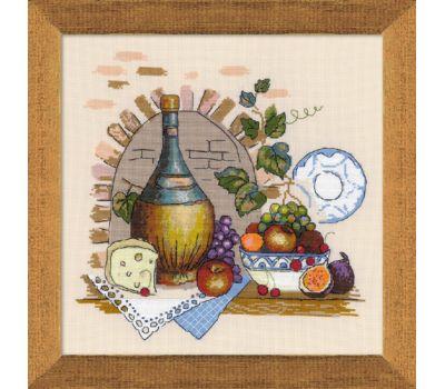 """1303 Набор для вышивания """"Риолис"""" Натюрморт с сыром 35х35 см, 1303"""