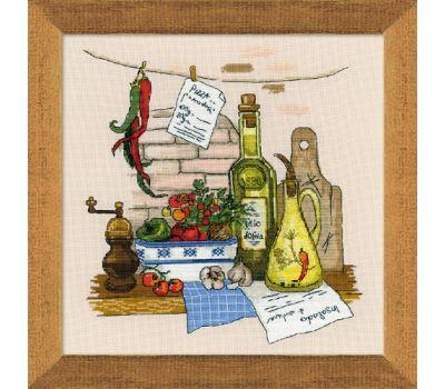 """1304 Набор для вышивания """"Риолис"""" Натюрморт с перцем 35х35 см, 1304"""