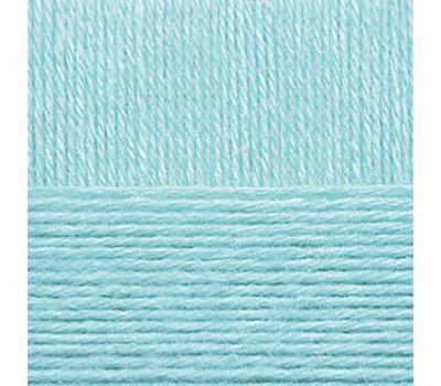 Пехорский текстиль Мериносовая Голубая бирюза, 222