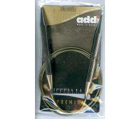 105-7-100/15-100 Addi спицы, круговые, супергладкие, никель, №15, 100 см.