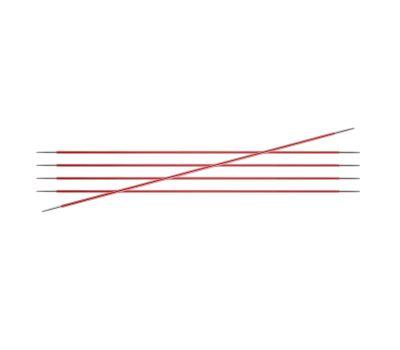 """20/2,00 Knit Pro Спицы чулочные """"Zing"""" алюминий 5шт. в упаковке №2,0, 47031"""
