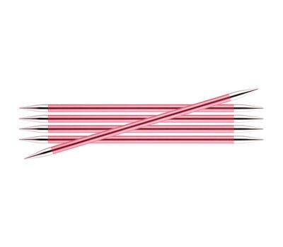 """20/6,50 Knit Pro Спицы чулочные """"Zing"""" алюминий 5шт. в упаковке №6,5, 47044"""