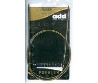 105-7-100/2,0-100 Addi спицы, круговые, супергладкие, никель, №2,0, 100 см.