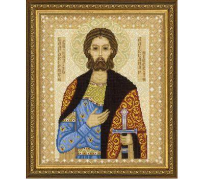 """1424 Набор для вышивания """"Риолис"""" Св. Александр Невский 29х35 см, 1424"""