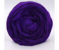 Троицкая камвольная фабрика Гребенная лента полутонкая Тёмно-фиолетовый