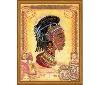 """РТ0047 Набор для вышивания """"Риолис"""" Африканская принцесса 30х40 см"""