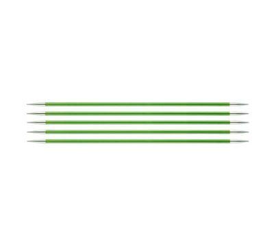 """20/3,50 Knit Pro Спицы чулочные """"Zing"""" алюминий 5шт. в упаковке №3,5, 47037"""