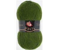 Magic Angora Delicate Зеленый кедр