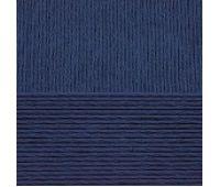 Пехорский текстиль Хлопок натуральный Темно синий