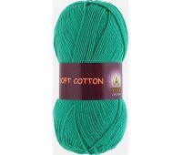 Vita cotton Soft cotton Зеленая бирюза