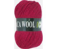 Vita Alpaka wool Темно красный