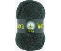 Vita Alpaka wool Темно зеленый