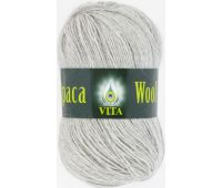 Vita Alpaka wool Светло-серый меланж