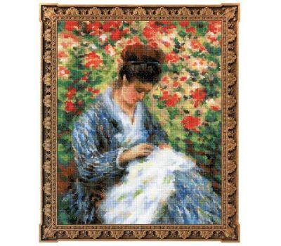 """100/051 Набор для вышивания """"Риолис"""" Мадам Моне за вышивкой 24х30 см, 100/051"""