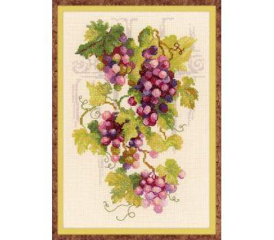 """1455 Набор для вышивания """"Риолис"""" Виноградная лоза 21х30 см, 1455"""