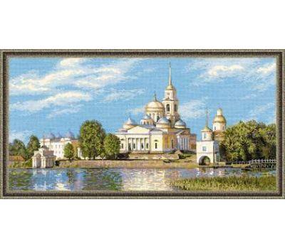 """1457 Набор для вышивания """"Риолис"""" Нилова Пустынь 60х30 см, 1457"""