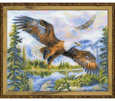 """1471 Набор для вышивания """"Риолис"""" Свободный полет 50х40 см, 1471"""