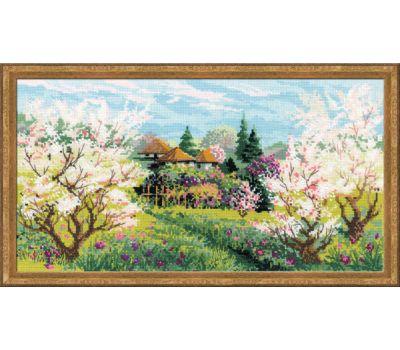 """1275 Набор для вышивания """"Риолис"""" Яблоневый сад 42х23 см, 1275"""