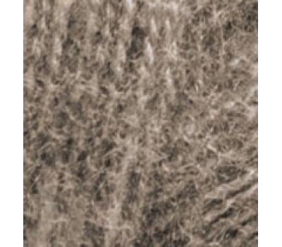 Alize Angora real 40  Коричневый меланж, 553
