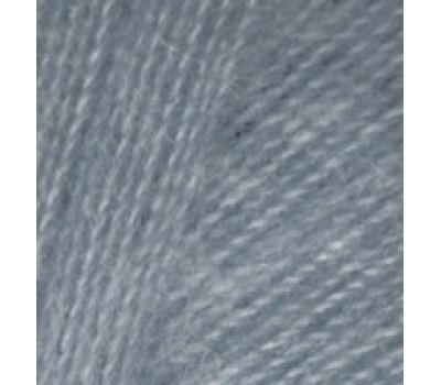 Alize Angora real 40  Средне серый, 87