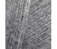 Alize Angora real 40  Средне серый меланж