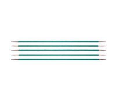 """20/3,25 Knit Pro Спицы чулочные """"Zing"""" алюминий 5шт. в упаковке №3,25, 47036"""