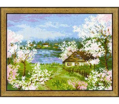 """1524 Набор для вышивания """"Риолис"""" Яблони в цвету 24х18 см, 1524"""