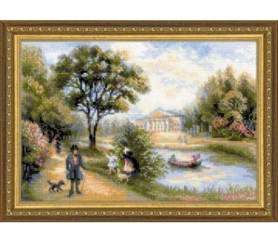 """1527 Набор для вышивания """"Риолис"""" Прогулка в парке 38х26 см, 1527"""