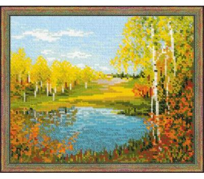 """1542 Набор для вышивания """"Риолис"""" Осенний день 30х24 см, 1542"""