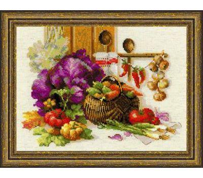 """1544 Набор для вышивания """"Риолис"""" Богатый урожай 40х30 см, 1544"""