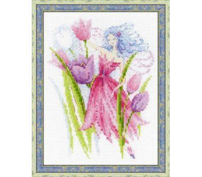 """1562 Набор для вышивания """"Риолис"""" Фея весеннего ветерка 15х20 см, 1562"""