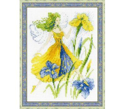 """1563 Набор для вышивания """"Риолис"""" Фея солнечного дня 15х20 см, 1563"""