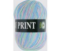 Vita Baby print Салатово голубой