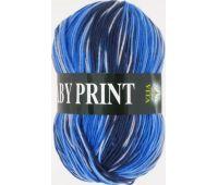 Vita Baby print Синий
