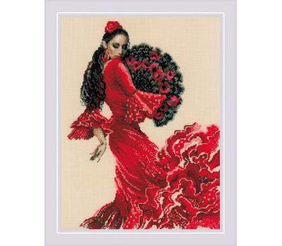 """1740 Набор для вышивания """"Риолис"""" Танцовщица 30х40 см, 1740"""