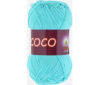 Vita cotton Coco Светлая зеленая бирюза