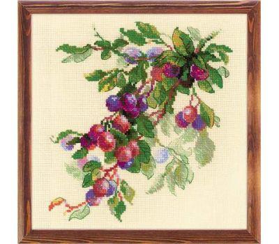 """1616 Набор для вышивания """"Риолис"""" Ветка сливы 30х30 см, 1616"""
