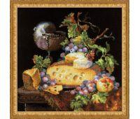 """1659 Набор для вышивания """"Риолис"""" Голландский натюрморт 30х30 см"""