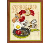 """1684 Набор для вышивания """"Риолис"""" Завтрак 15х18 см"""