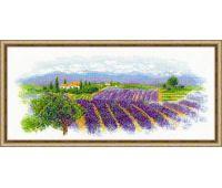 """1690 Набор для вышивания """"Риолис"""" Цветущий прованс 55х25 см"""