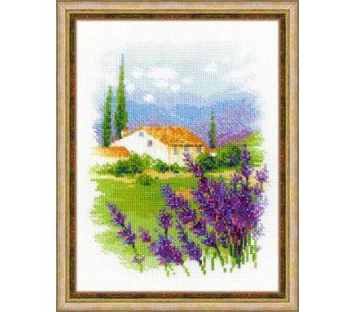 """1691 Набор для вышивания """"Риолис"""" Ферма в Провансе 18х24 см, 1691"""