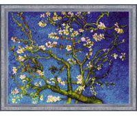 """1698 Набор для вышивания """"Риолис"""" Цветущий миндаль по мотивам картины В. Ван Гога 40х30 см"""