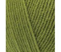 Alize Lanagold FINE Зеленая черепаха