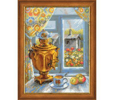 """1145 Набор для вышивания """"Риолис"""" Самовар 30х40 см, 1145"""