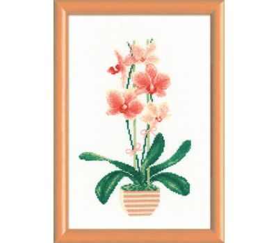 """1161 Набор для вышивания """"Риолис"""" Желтая орхидея 21х30 см, 1161"""